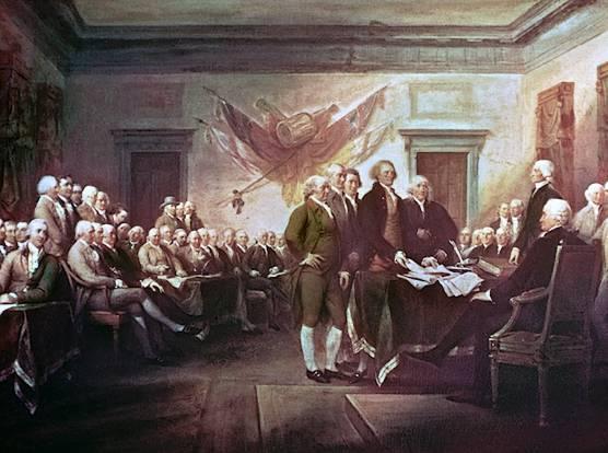 amerikanische unabhaengigkeitserklaerung - 6. Die amerikanische Unabhängigkeitserklärung