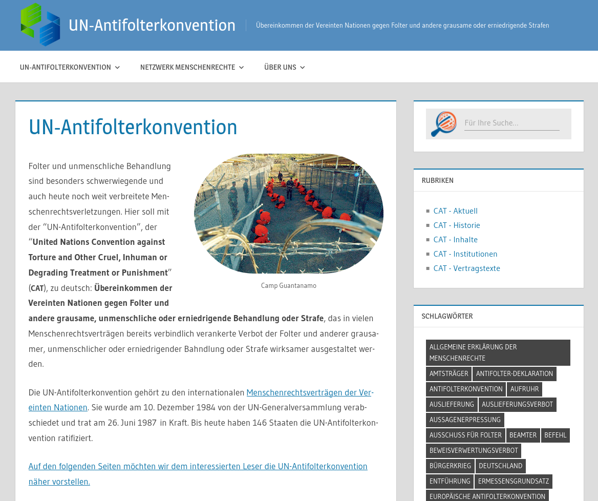 Un Antifolterkonvention