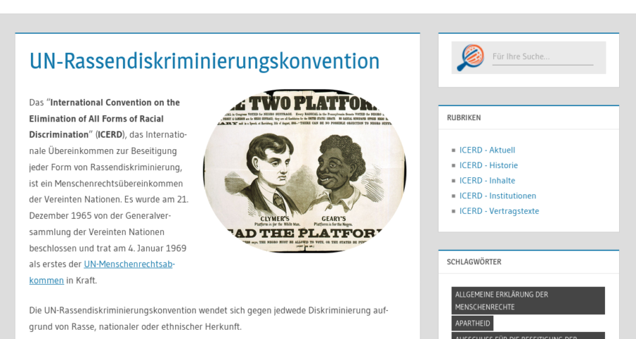 UN-Rassendiskriminierungskonvention